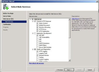 IIS 02 Role Services
