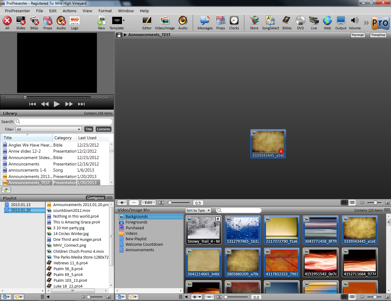 ProPresenter Slide Loops01